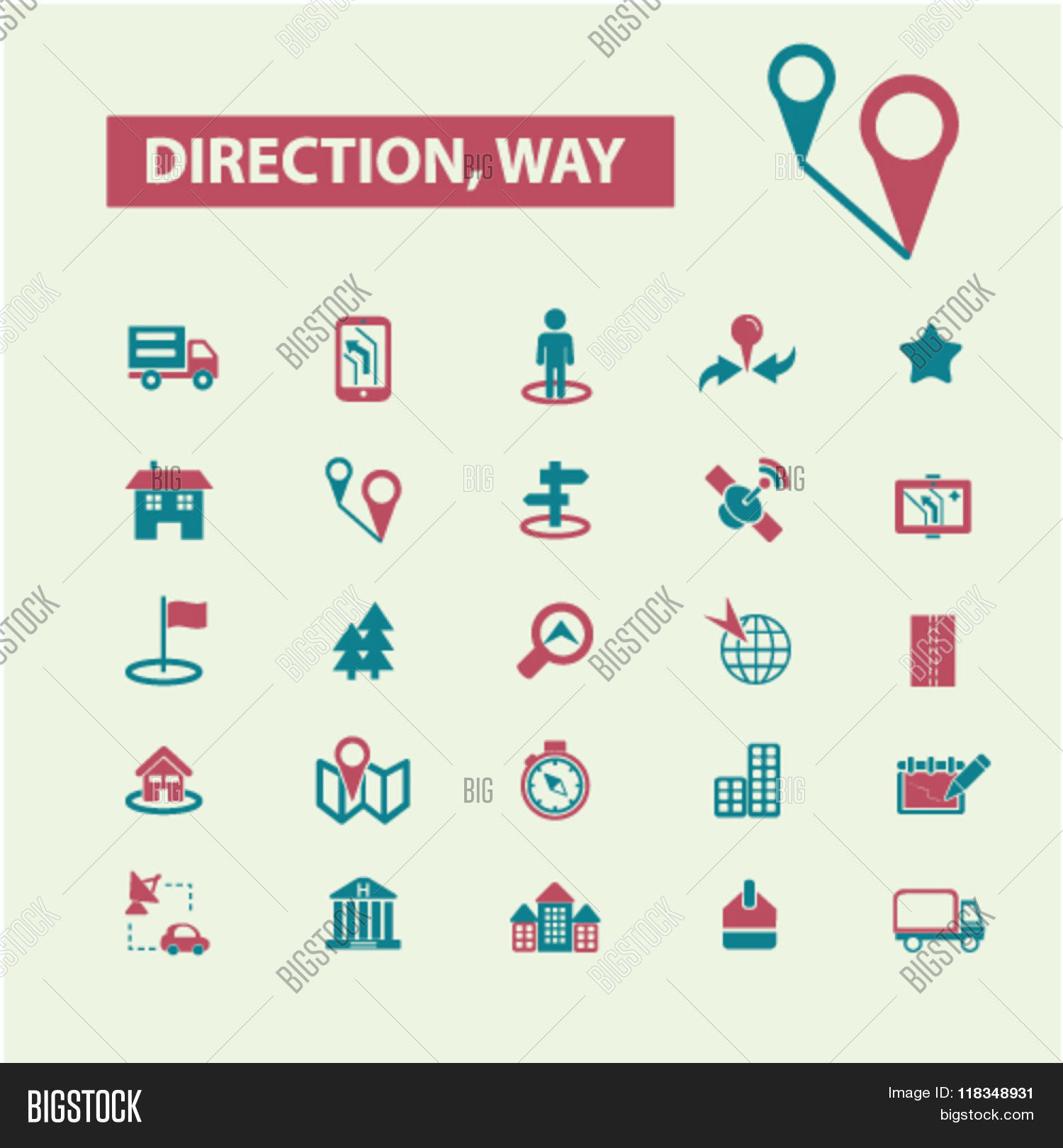 Direction Icons, Way Vector & Photo (Free Trial) | Bigstock on links icon, mapquest desktop icon, schedule icon, contact icon, emergency desktop icon, map directional arrows, about us icon, maps app icon, data mapping icon, right icon, apple maps icon, map icons clip art, private party icon,