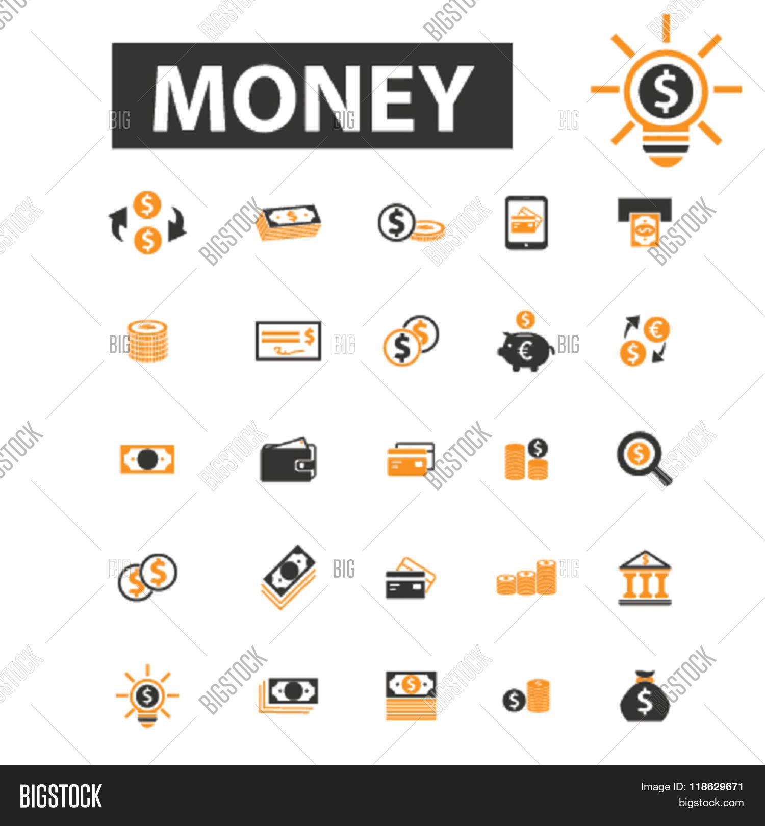 Cash Icons, Cash Logo, Money Icons Vector & Photo | Bigstock