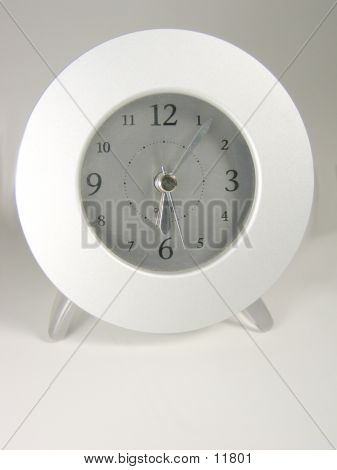 Chrome Clock