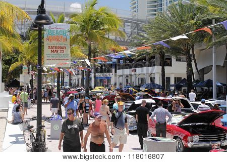 Classic Car Show On A1A