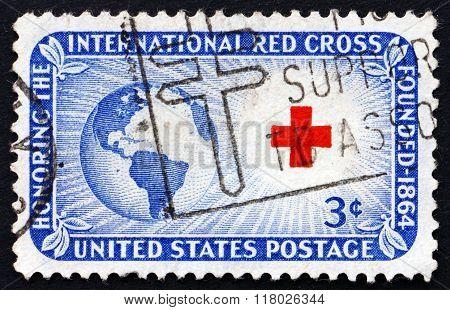 Postage Stamp Usa 1952 Globe, Sun And Cross