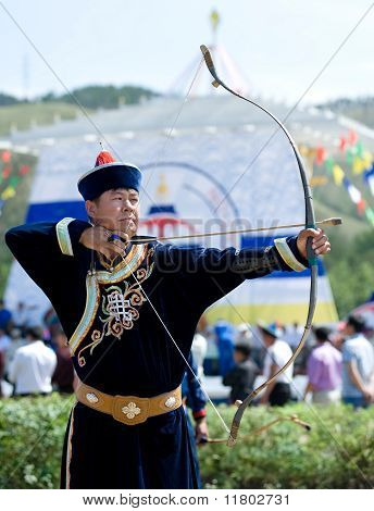 Tsyrempilov At World Mongolians Convention