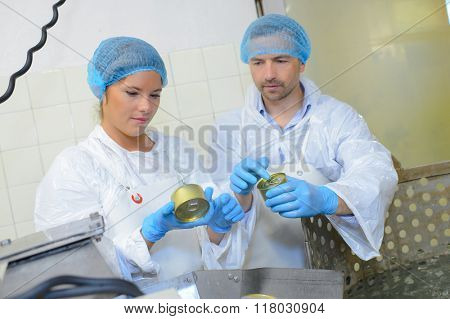 canning workers