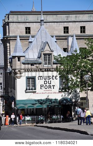 Museum of Fort in Old Quebec City