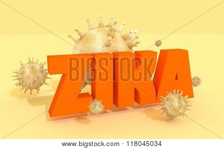 Zika Desease, Abstract Virus Modes