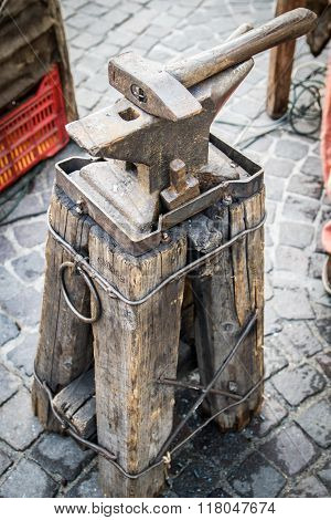Anvil Used By Napoleon's Army To Shoe Horses.
