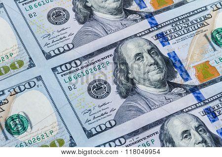 One Hundred Dollars Background