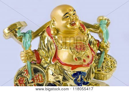 Golden Hoteya budda