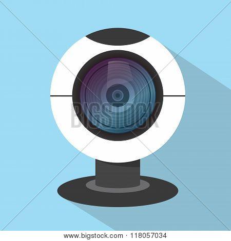 webcam web cam camera single isolated