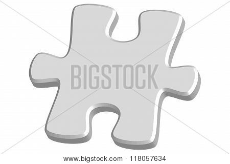 Light Grey 3D Jigsaw Puzzle