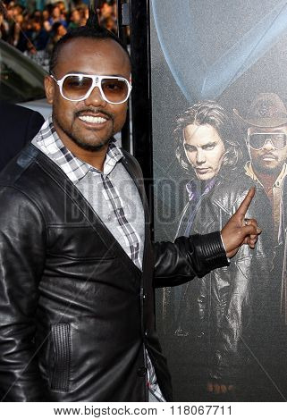 Apl.de.ap of The Black Eyed Peas at the Los Angeles Premiere of