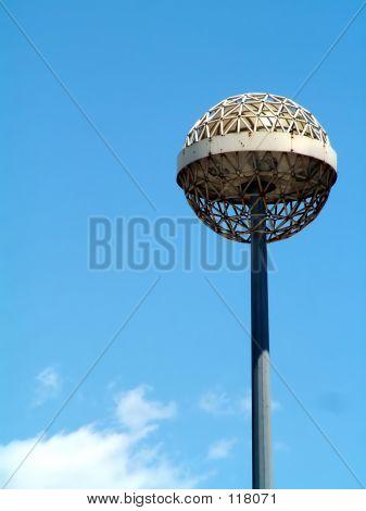 Big Lamp Over Blue Sky