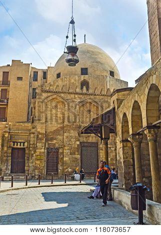 The Mausoleum Of Al Salihiyya
