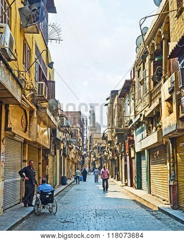 The Morning On Al-muizz Street