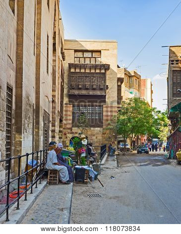 The Walls Of Old Cairo