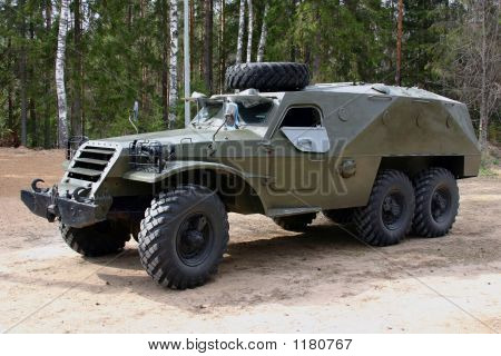 Armored Russian Truck