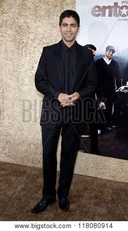 Adrian Grenier at the Season 7 Premiere of