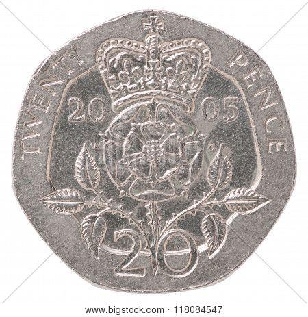 English Pence Coin
