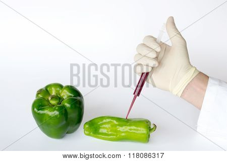 Inflating Green Peppers