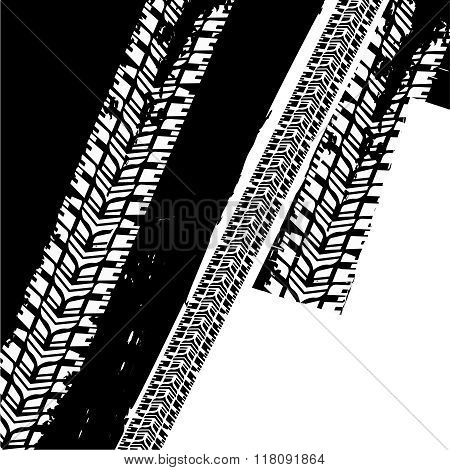 Grunge Tire Background