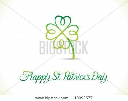 Abstract Artistic St Patrick Day