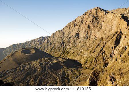 Mount Meru at sunrise