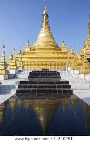 Pagoda on top of Mandalay Hill