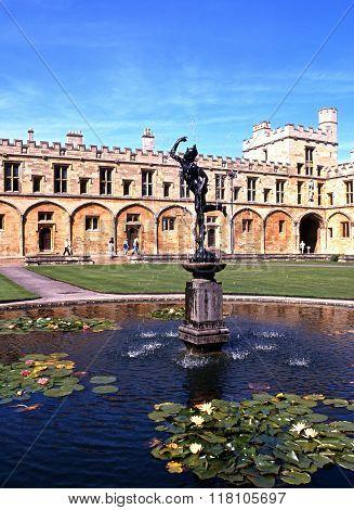 Christchurch college, Oxford.
