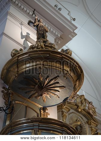Buenos Aires Argentina - 19th October 2015: Basilica de Nuestra Senora del Pilar.