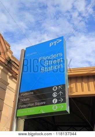 Flinders Street Station Melbourne Australia
