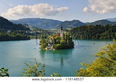 Monastery On Bled Lake