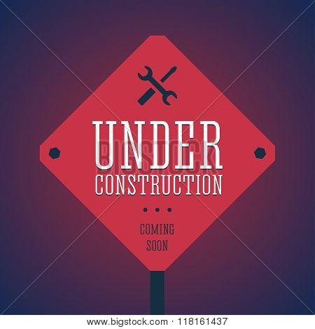 Under construction illustration.