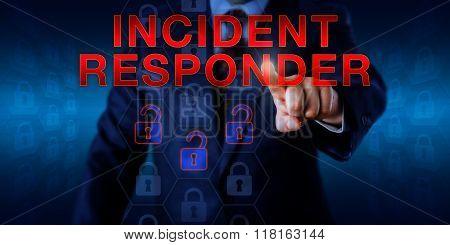 Manager Pressing Incident Responder