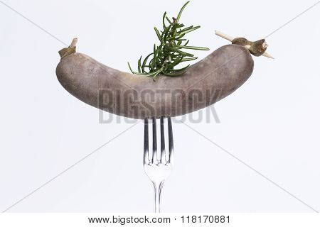 Half-smoke With Fork