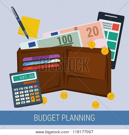 Budget Planning Concept