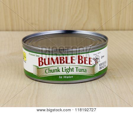 Can Of Bumble Bee Tuna