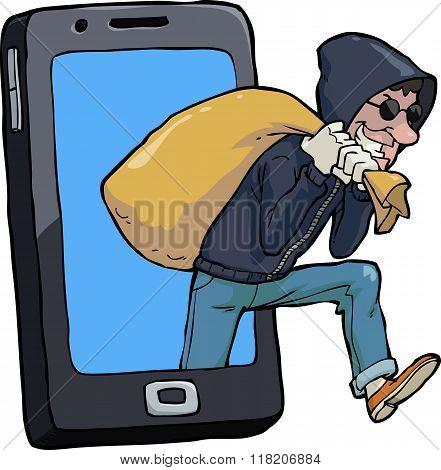 Thief Of Smartphone