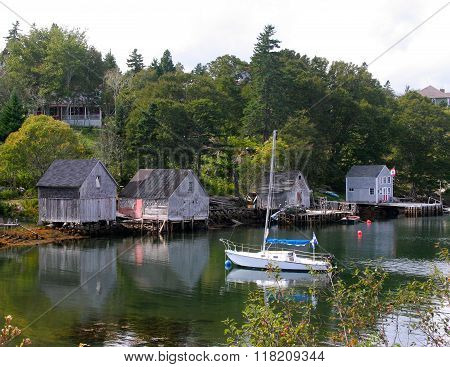 Fishing Shacks