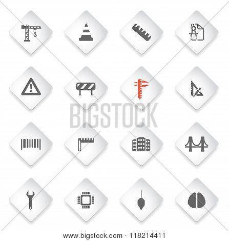 Engineering simply icons