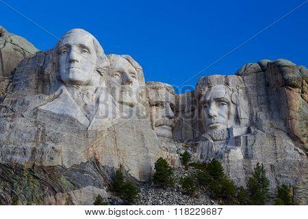 Mount Rushmore National Memorial Horizontal
