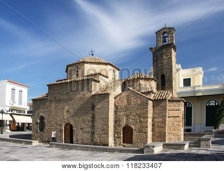 The Symbol Of The City Of Kalamata - The Church Of St. Apostles
