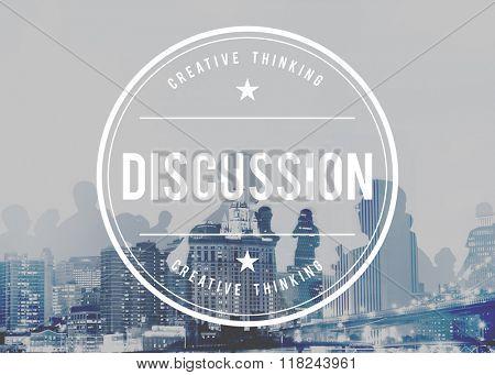 Discussion Argument Arguing Debate Negotiate Concept