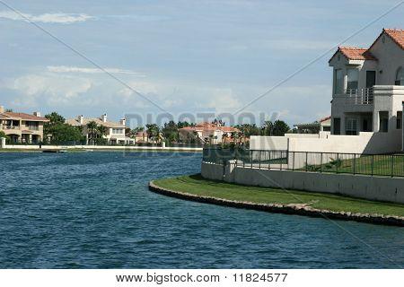 Lake-view neighborhood