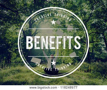 Benefits Incentive Welfare Advantage Bonus Profit Concept