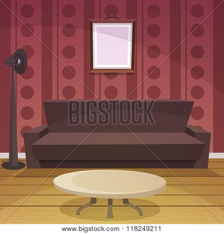Retro Room - Red