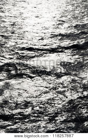Black And White Sea