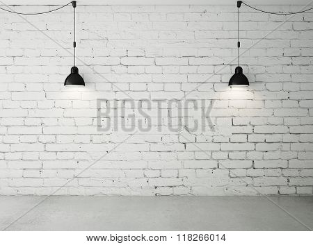 Room With Two Lamps