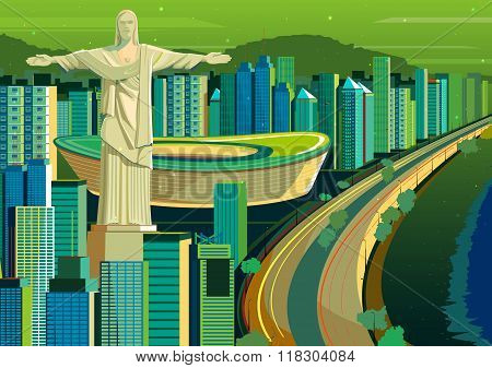 Christ the Redeemer statue in Brazil