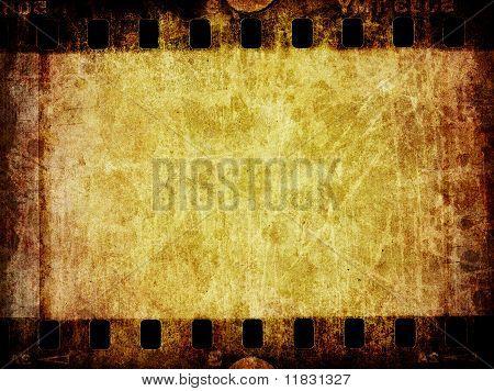 Grunge Film Negative Background Texture