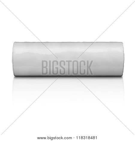 Cylinder package of biscuits.